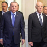 ترکی کے صدر رجب طیب اردگان اور تیونس کے صدر قیس  سعید