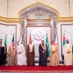 ریاض: خلیج تعاون کونسل کے رکن ممالک کے سربراہ گروپ فوٹو بنوا رہے ہیں