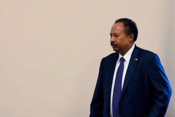 سوڈانی وزیر اعظم عبداللہ حمدوک