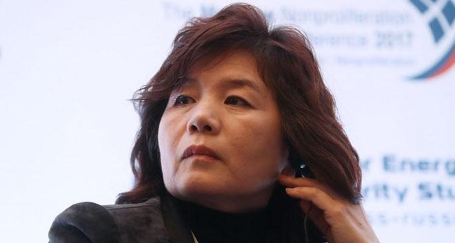 شمالی کوریا کے وزیر خارجہ چو سون ہوئی