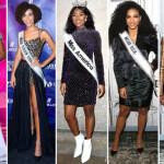 مس امریکا، مس یو ایس اے، مس یونیورس، مس ورلڈ اور مس ٹین یو ایس اے کا تاج پہننے والی خواتین سیاہ فام