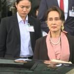 میانمار کی سول رہنما آنگ سانگ سوچی