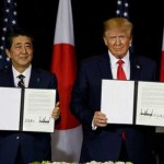 وزیر اعظم شنزو آبے اور صدر ڈونلڈ ٹرمپ نے ستمبر میں شرائط پر اتفاق کیا تھا