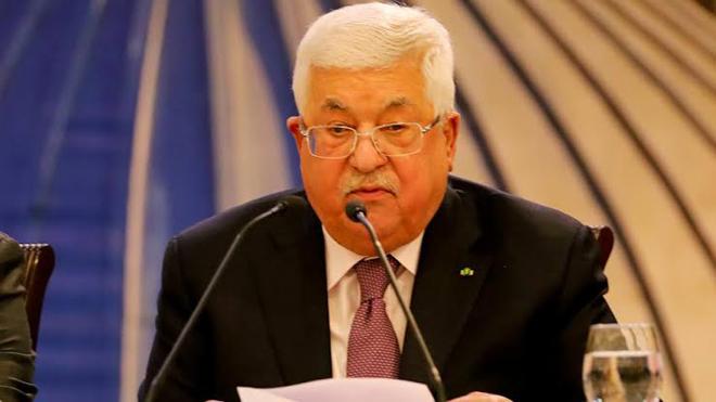 فلسطینی صدر محمود عباس