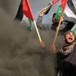 ٹرمپ کی مشرق وسطی امن منصوبے کے خلاف فلسطینیوں کے احتجاج