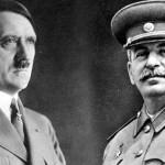 جرمنی کے سربراہ ایڈولف ہٹلر اور سوویت یونین کے رہنما جوزف سٹالن