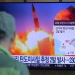 شمالی کوریا نے ساحلی شہر وون سان سے جاپان کے سمندر میں دو بیلسٹک میزائل فائر کیے