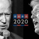 امریکا کے صدارتی امیدوار ڈونلڈ ٹرمپ اور جو بائیڈن