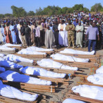 نائیجیریا کی ریاست بورنو کے گائوں خوشوبے میں مسلح افراد کے حملے میں 43 افرد کا سر قلم کر دیا گیا