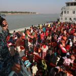 1800روہنگیا مہاجرین پر مشتمل دوسرا گروپ خطرناک جزیرے بھاسن چار پر منتقل کیا جا رہا ہے
