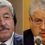 الجزائری عدالت سے سزائے قید پانے والے سابق وزرائے اعظم احمد او یحیی اور عبد المالک سلال کی فائل فوٹو