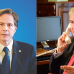 امریکی وزیر خارجہ انٹونی انتھونی بلنکن اور وزیر خارجہ شاہ محمود قریشی