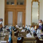 ایران کے وزیر خارجہ ، محمد جواد ظریف ، اور IAEA کے ڈائریکٹر جنرل ، رافیل گروسی