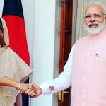 بھارتی وزیر اعظم نریندر مودی اور اس کی ہم نوا و ہم منصب حسینہ واجد