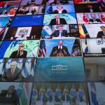 بائیس اپریل کو امریکی صدر جو بائیڈن کی جانب سے ماحولیات پر بلائے گئے ورچول سربراہی اجلاس میں دنیا کے 40 ملکوں کے سربراہان نے شرکت کی