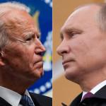 روس کےصدر پیوٹن اور امریکہ کے صدر جو بائیڈن ، فائل فوٹو