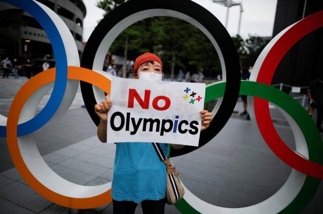 آسی فیصد جاپانی رواں برس ٹوکیو اولمپکس کے انعقاد کے مخالف